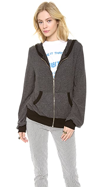Wildfox Gatsby Summer Night Zip Hoodie