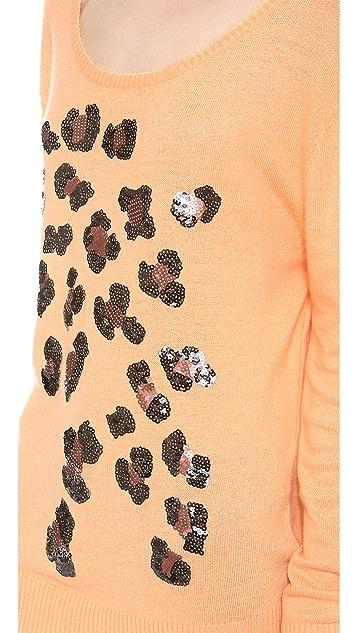 Wildfox Leopard Spots Sweater