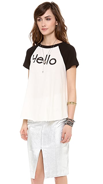 Wildfox You Called? Tee