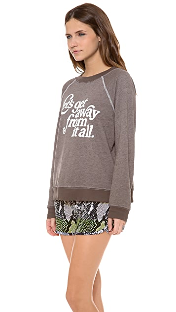 Wildfox Let's Get Away Sweater