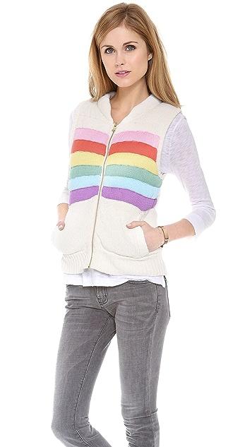 Wildfox Ski Bunny Vest