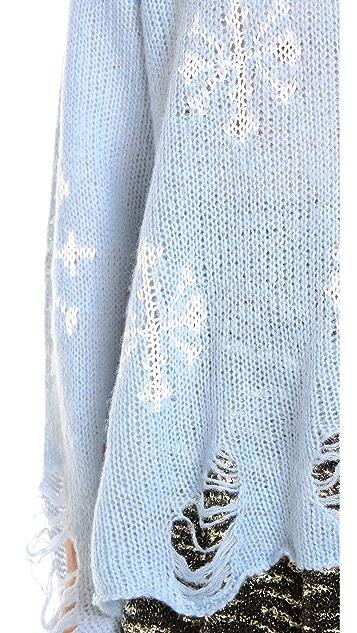 Wildfox Snowflake Sweater