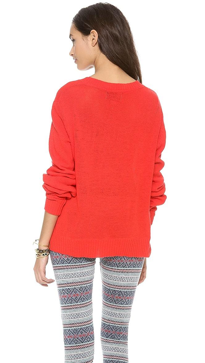 Wildfox Christmas Sweater.Wildfox Baby Christmas Tree Sweater Shopbop