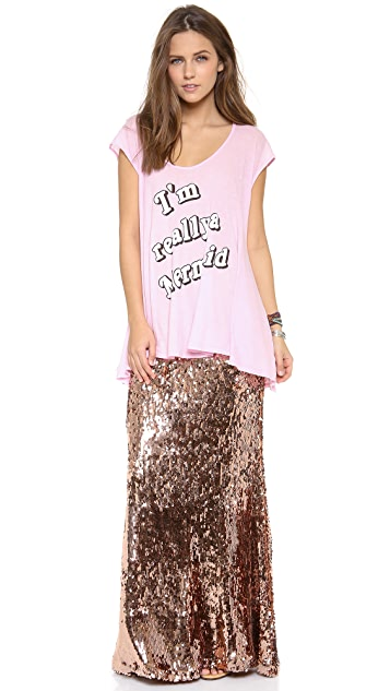 Wildfox I'm Really a Mermaid Tunic