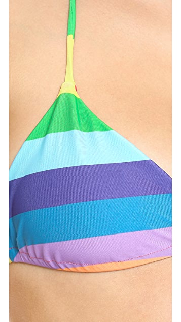 Wildfox Reversible String Bikini Top