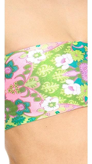 Wildfox Reversible Bandeau Bikini Top