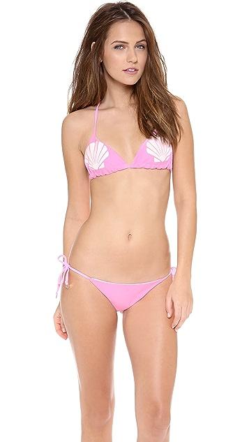 Wildfox Shelly Reversible String Bikini Top