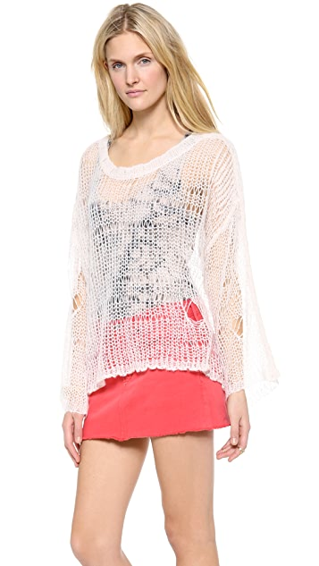 Wildfox Lost Mermaid Knit Sweater
