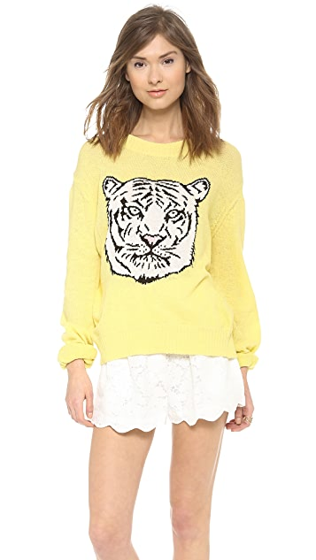 Wildfox White Tiger Sweater