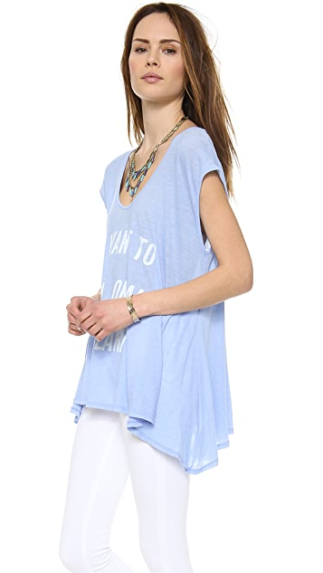 Wildfox Live on an Island Tulum Tunic