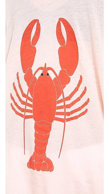 Wildfox Lobster Tulum Tunic