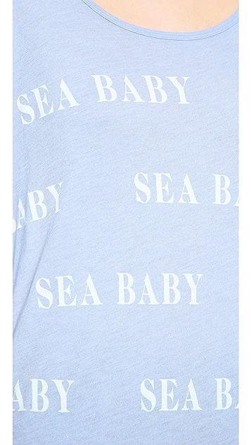 Wildfox Sea Baby Bonfire Beach Tee