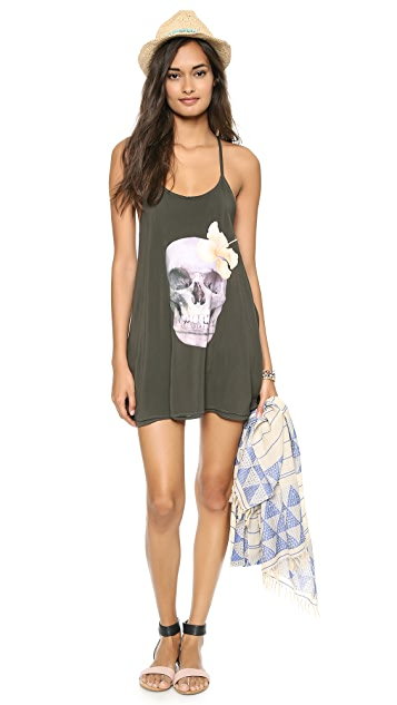 Wildfox Island Skull St Lucia Dress