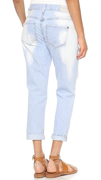 Wildfox Marissa Slouchy Slim Boyfriend Jeans