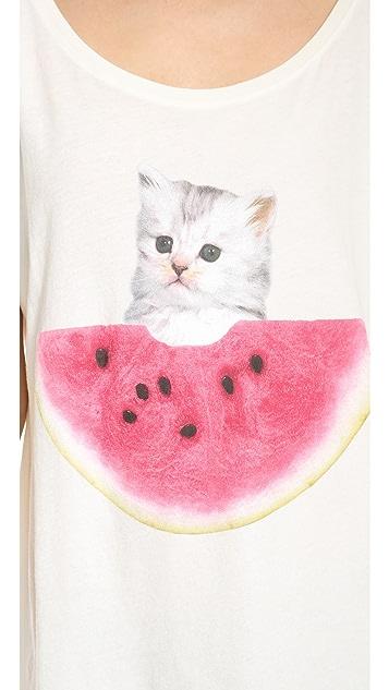 Wildfox Watermelon Thief T-Shirt