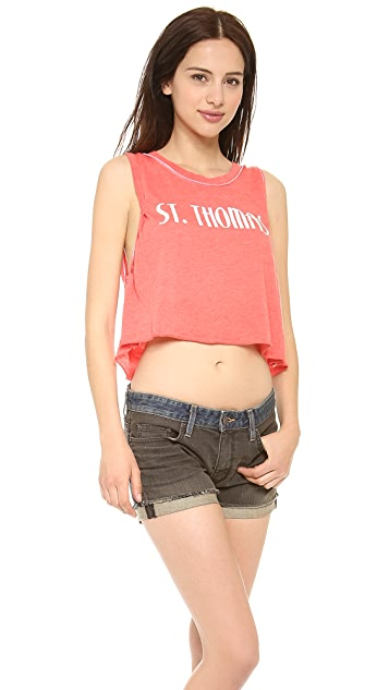 Wildfox St. Thomas Crop Top