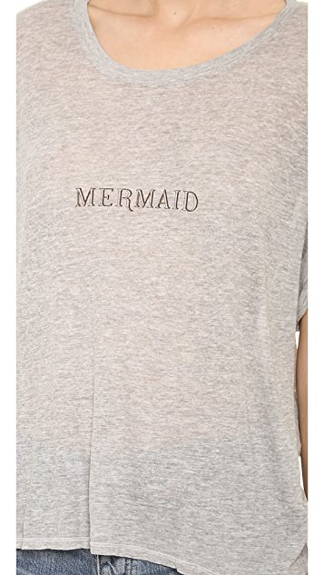 Wildfox Tiny Mermaid Boy Tee