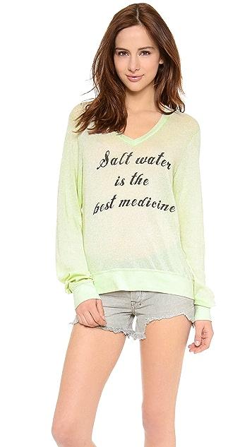 Wildfox Salt Water Baggy Beach Sweater