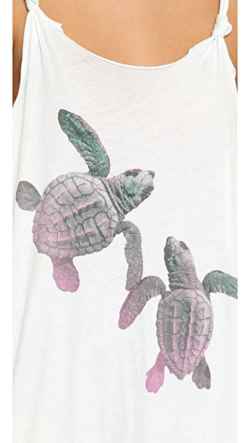 Wildfox Baby Turtles Tank