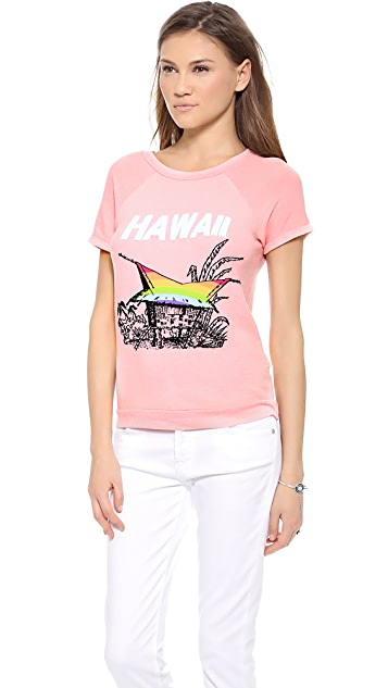Wildfox Hawaiian Rainbow Tee