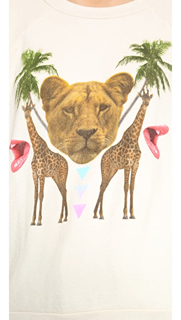 Wildfox Animal Kingdom Top