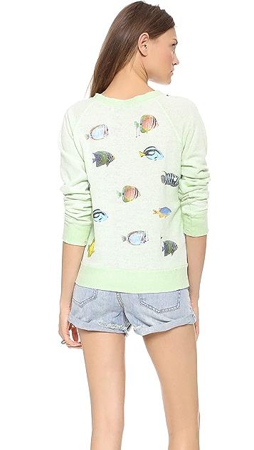 Wildfox Fishes Sweatshirt