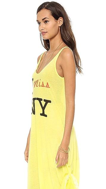 Wildfox I Miss NY Tank Maxi Dress