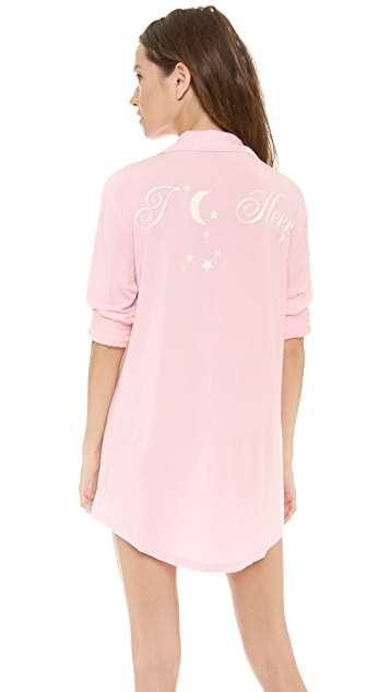 Wildfox I Moon Sleep Sleep Shirt