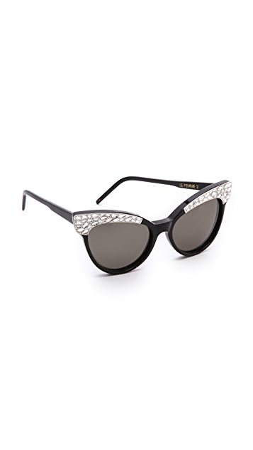 Wildfox Le Femme 2 Sunglasses