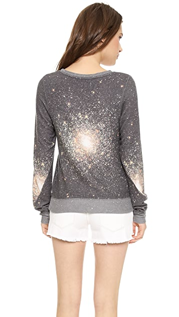 Wildfox Out There Baggy Beach Sweatshirt