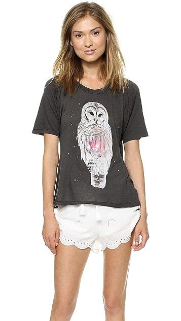 Wildfox Magical Owl Tee