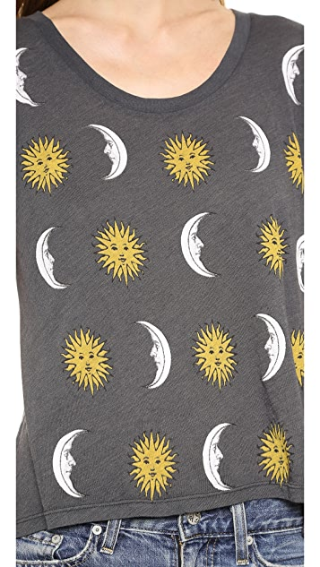 Wildfox Moon & Sun Tee