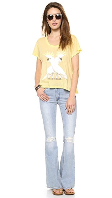Wildfox Cockatoos Tee