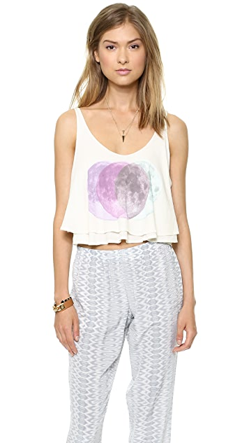 Wildfox Moons Collide Tank