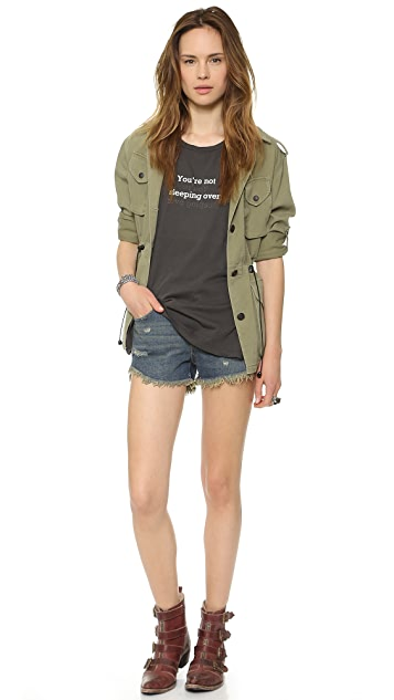 Wildfox Late Night Surprise Reversible Tee