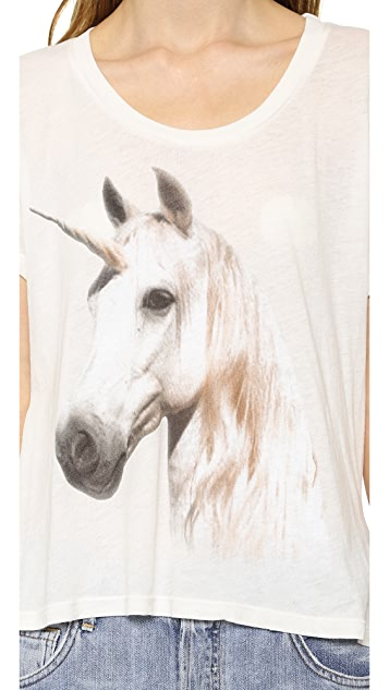 Wildfox Unicorn Dream Tee