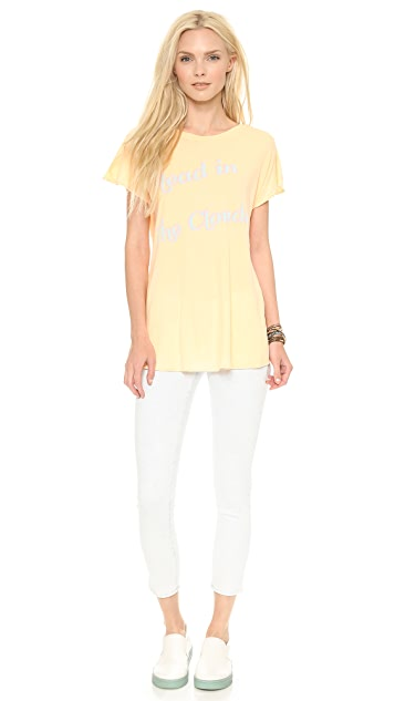Wildfox Head in the Clouds Tee