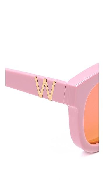 Wildfox Classic Fox Deluxe Sunglasses