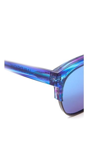 Wildfox Club Fox Deluxe Sunglasses