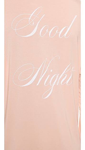 Wildfox Good Night Sleep Shirt