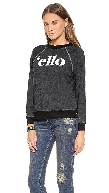 Wildfox 'Ello Sweatshirt