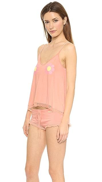 Wildfox Flower Girl Sleepover Pajama Set
