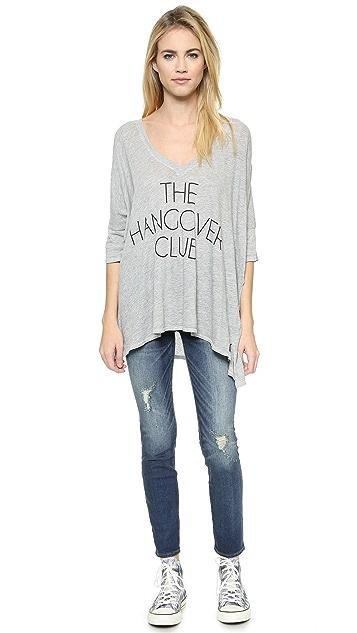 Wildfox Hangover Club Tee