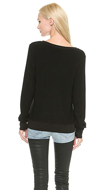 Wildfox Black Cat Sweatshirt