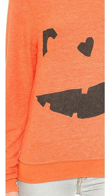 Wildfox Happy As a Pumpkin Sweatshirt
