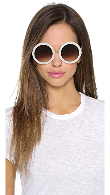 Wildfox Солнцезащитные очки Malibu