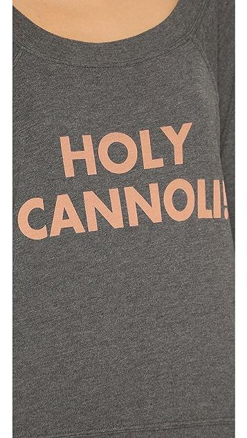 Wildfox Holy Cannoli Raglan Tee