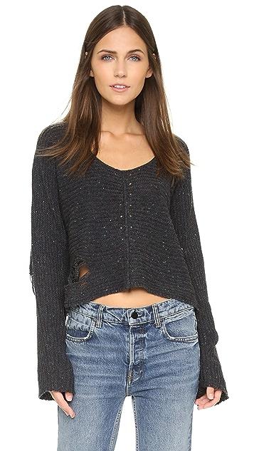 Wildfox Terra Crop Sweater