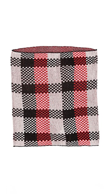 Wildfox Checkers Scarf