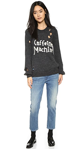 Wildfox Caffeine Machine Sweater